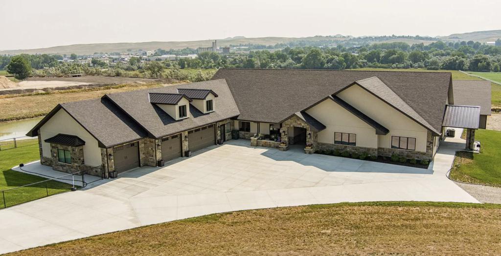 Custom Home by O'Dell Construction Sheridan, Wyoming